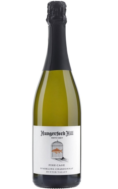Hungerford Hill Fishcage Sparkling Chardonnay NV (12 x 750mL), NSW.