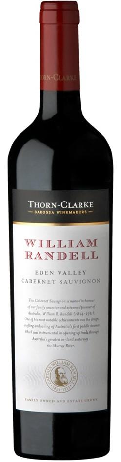 Thorn-Clarke William Randell Cabernet Sauvingon 2016 (6x750mL), Eden Valley