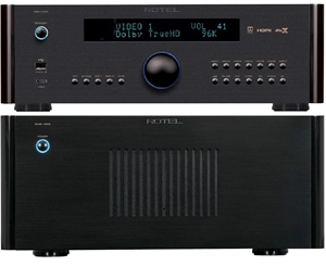 Rotel RMB-1555 5.0CH Power Amplifier & R