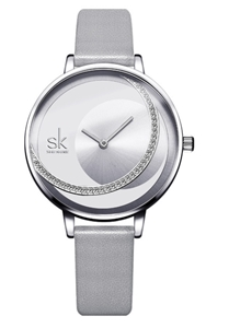 SK Women Watch Miyota movement Leather B