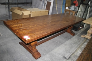 Solid Timber Dining Table Unused Auction 0056 5037663 Graysonline Australia