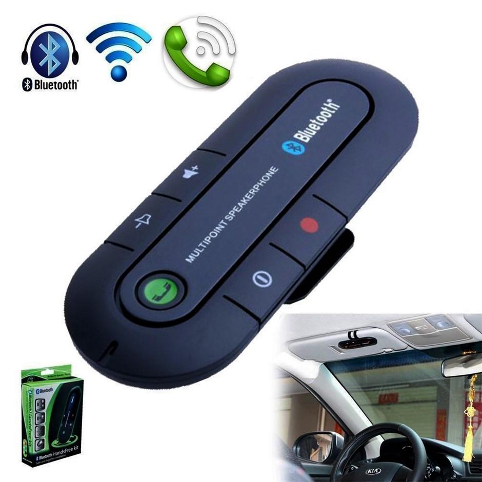Universal Wireless Bluetooth Hands free speaker Car Kit Music Receiver