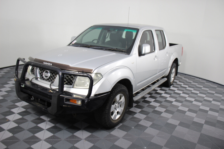 2011 Nissan Navara ST (4x4) D40 Turbo Diesel Dual Cab