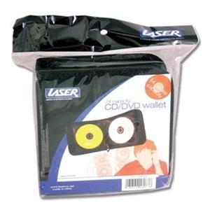 (10 Pack) Laser CD DVD Wallets 24 Capaci