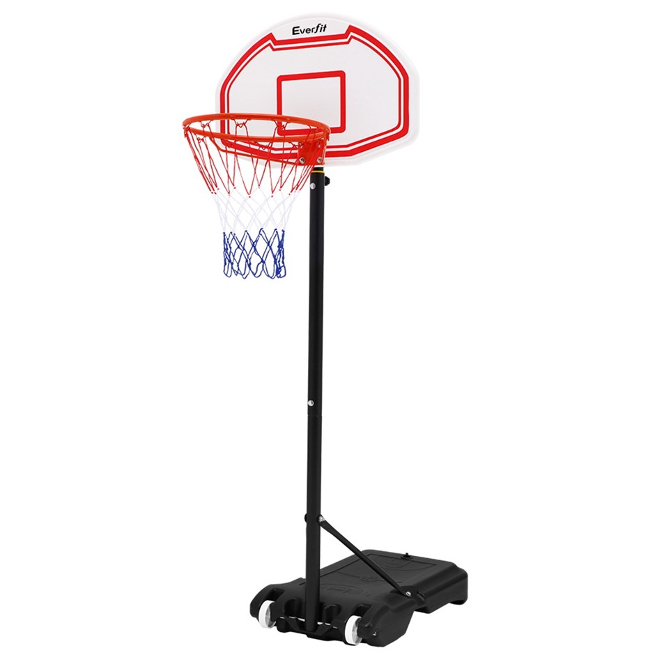Everfit Pro Basketball Stand System Hoop Height Adjustable Net Ring WH