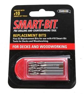 4 x Packs of 5 SMART-BIT Pre-Drilling Bi