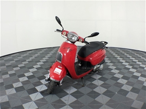 FYM Dash 2 seater Scooter, 12492 km indi