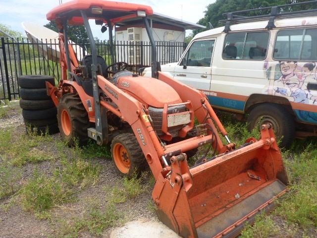2008 Kubota B26 Tractor/Backhoe