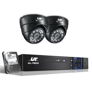 UL-Tech CCTV Security System 2TB 4CH DVR