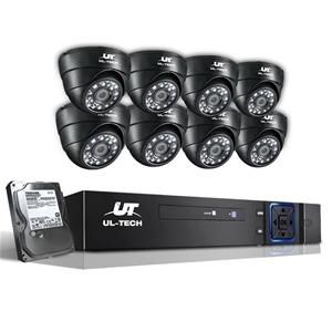 UL-Tech CCTV Security System 2TB 8CH DVR
