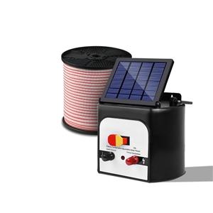 Giantz 8km Solar Electric Fence Energise