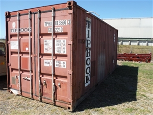 20ft Shipping Container & Contents of Various Size & Types of Cables