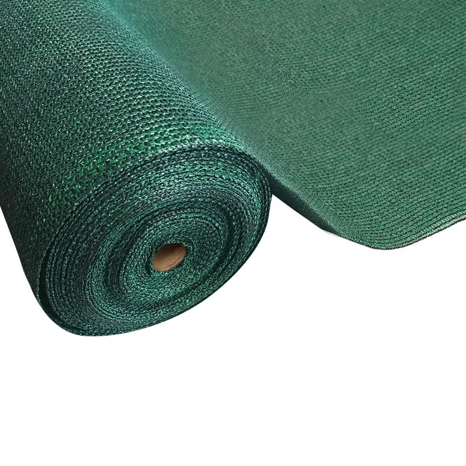 Instahut Sun Shade Shady Cloth Shadecloth Sail Roll Mesh Outdoor Green