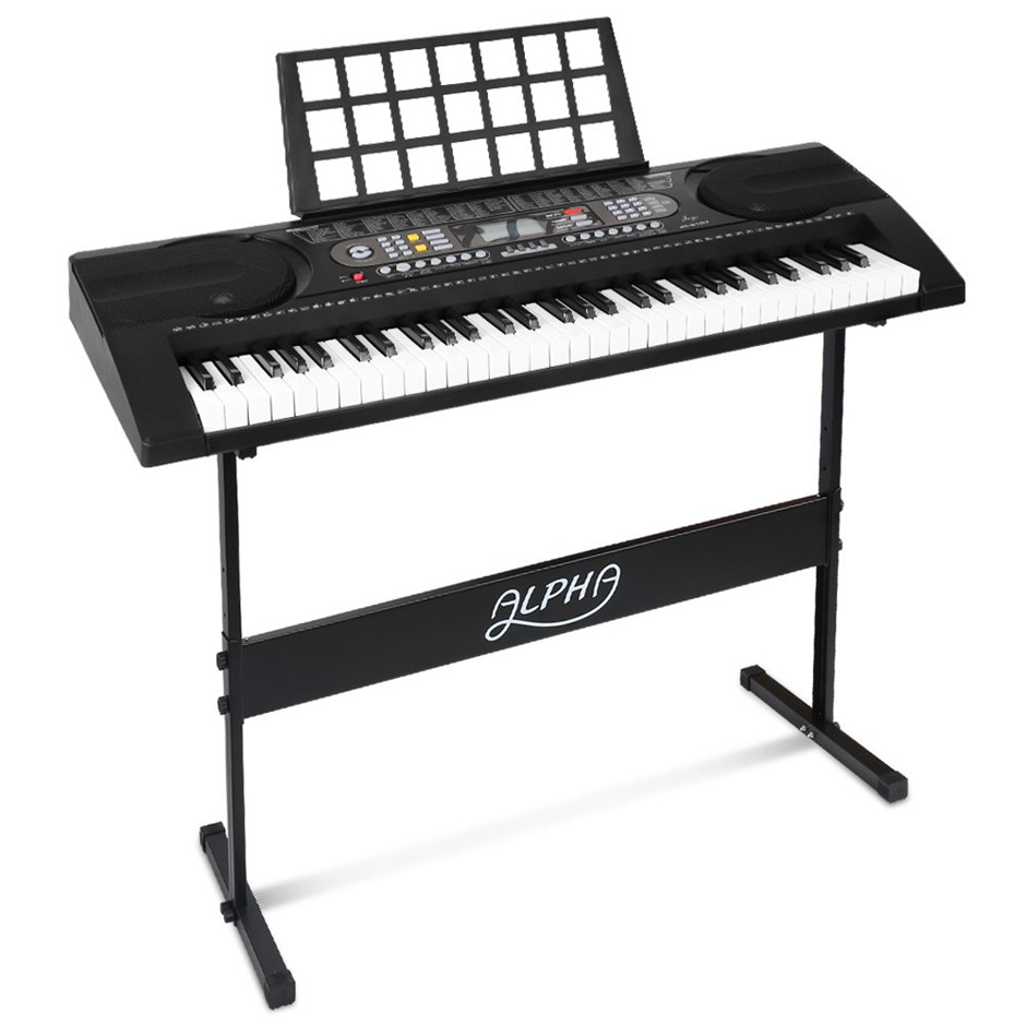 Alpha 61-Key Electronic Keyboard - 81 Features