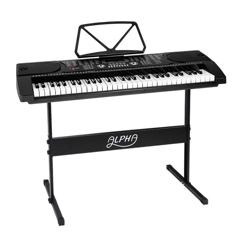Alpha Portable 61 Key Keyboard - Black
