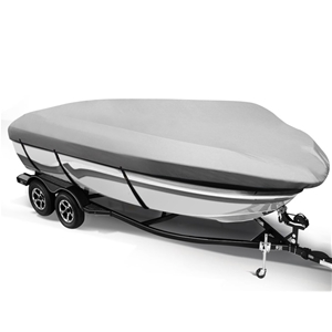 12 - 14 foot Waterproof Boat Cover - Gre