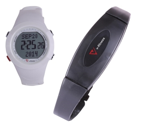 Laser V-Fitness Sports Watch HRM with 3D