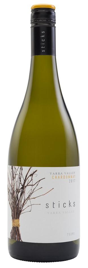 Sticks Chardonnay 2017 (6 x 750mL), Yarra Valley, VIC.