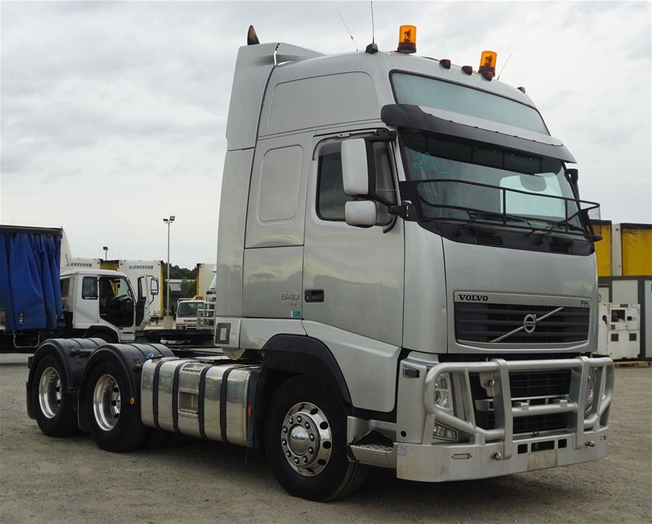 2013 Volvo FH MK2 6 x 4 Prime Mover Truck