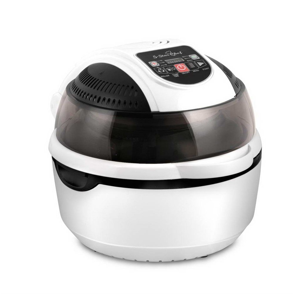 5 Star Chef 10L 6 Function Convection Oven Cooker Air Fryer - White