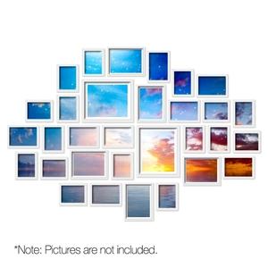 30 PCS Photo Frames Wall Set Collage Pic