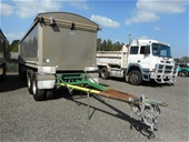 BUY NOW - 2010 Hercules HEDT-4 Quad Dog Tipping Trailer