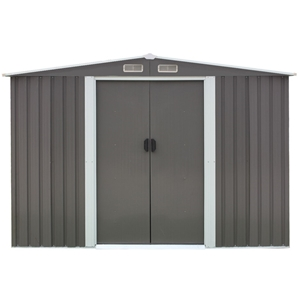 Garden Shed Spire Roof 8ft x 8ft Outdoor