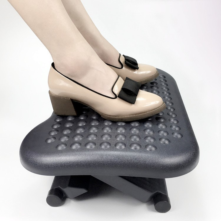 Footrest Under Desk Foot / Leg Rest for Office Chair Computer Plastic