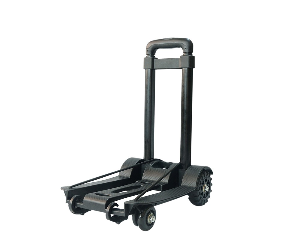 Portable Cart Folding Dolly Push Truck Hand Collapsible Luggage 70Kg