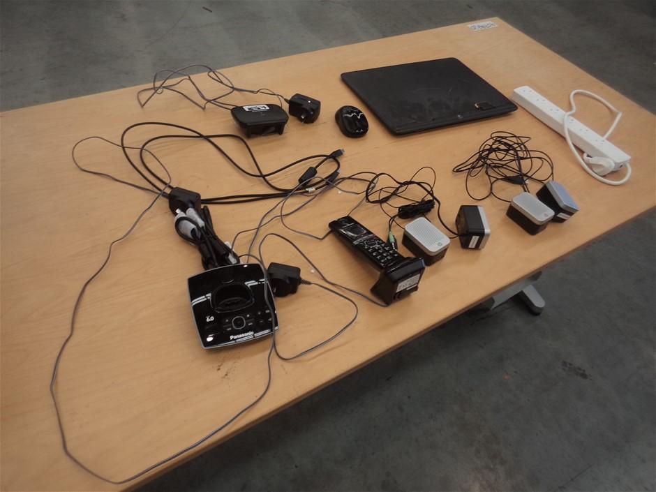 Panasonic, HP Telephone & Speakers
