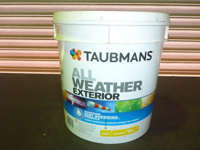 Taubmans 15L All Weather Exterior Matt Paint - Accent