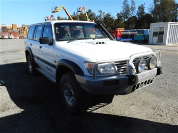 2001 Nissan Patrol Turbo Diesel Direct Injection 4WD 7 seater SUV