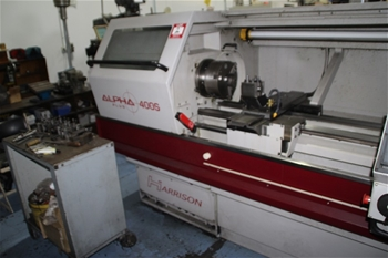 Harrison CNC Gap Bed Lathe