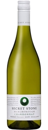 Secret Stone Marlborough Chardonnay 2018 (6 x 750mL), NZ.