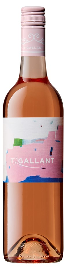 T'Gallant Rose 2018 (6 x 750mL), VIC.