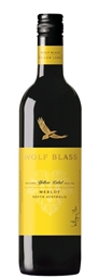 Wolf Blass Yellow Label Merlot 2017 (6 x 750mL), SA.