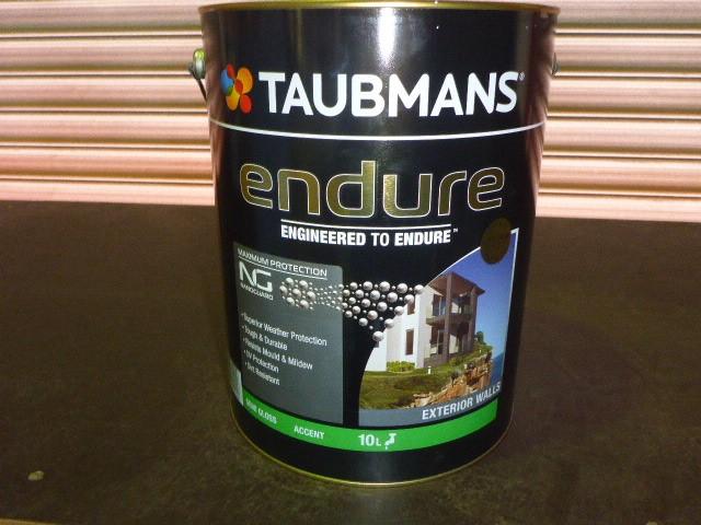 Taubmans 10L Endure Exterior Semi Gloss Paint - Accent