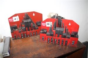 2x Machine Steel Clamping Set