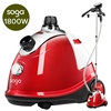 Professional Commercial Garment Steamer Portable Cleaner Steam Iron Red
