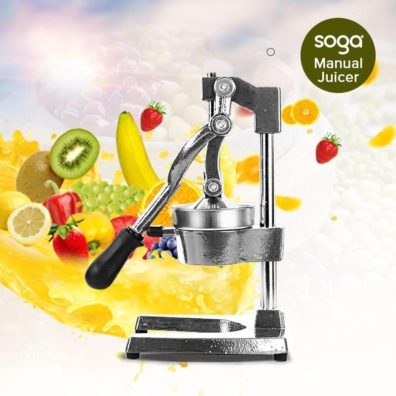 Commercial Manual Juicer Hand Press Juice Extractor Squeezer Orange Citrus