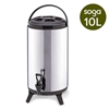 SOGA 10L Portable Insulated Cold/Heat Brew Pot With Dispenser
