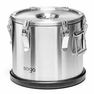 SOGA 304 30*29cm Stainless Steel Insulat