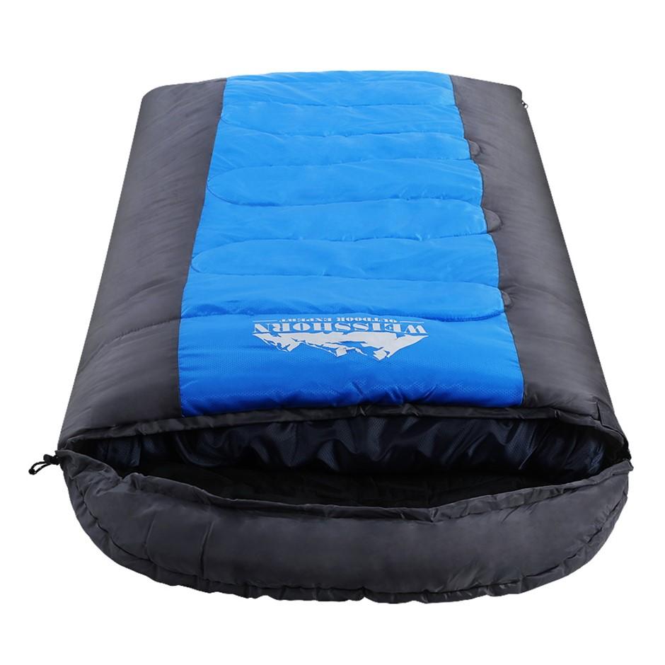 Weisshorn Sleeping Bag Single Camping Hiking -20 degree Tent Winter Thermal