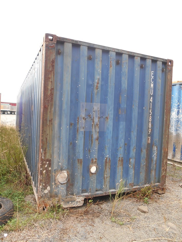 40 Foot Open Top Container Auction (0010-5037810 ...