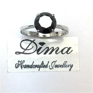18ct White Gold, 2.40ct Diamond Ring