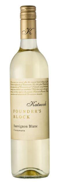 Katnook Founders Block Sauvignon Blanc 2017 (6 x 750mL) Coonawarra, SA