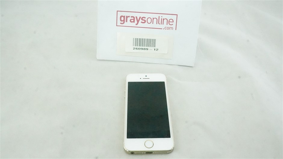 Apple iPhone 5S GSM+CDMA 16GB Gold Mobile Phone