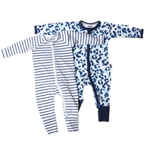BONDS 2pk Wondersuits, Size 3-6 Months,