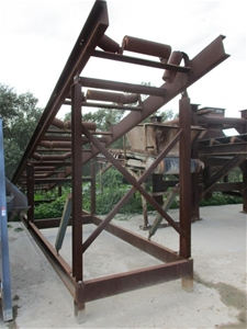 Conveyor Stacker Sloped