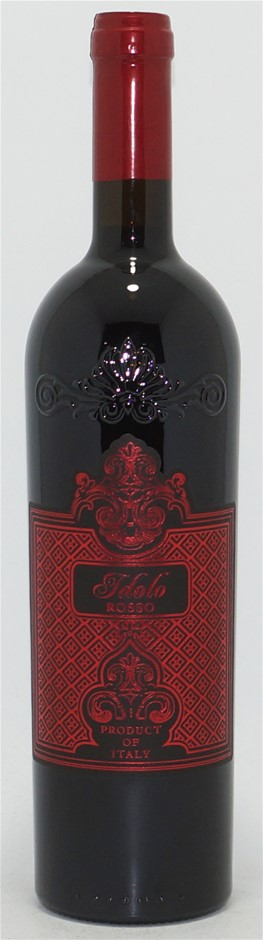 Idolo Rosso IGT Sangiovese 2015 (12x750ml), Rubicone - Italy.Cork